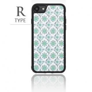 [2018新生活応援特価]バルス モロッコタイル柄TPUケース iPhone 8/7 R Type