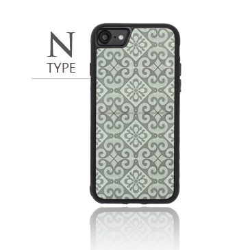 iPhone8/7 ケース バルス モロッコタイル柄TPUケース iPhone 8/7 N Type_0