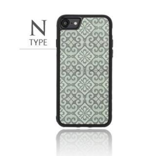 [2018新生活応援特価]バルス モロッコタイル柄TPUケース iPhone 8/7 N Type