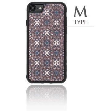 iPhone8/7 ケース バルス モロッコタイル柄TPUケース iPhone 8/7 M Type_0