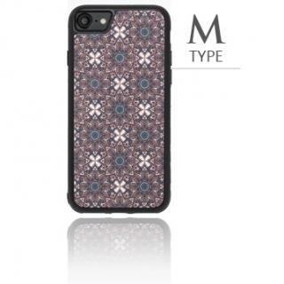 [2018新生活応援特価]バルス モロッコタイル柄TPUケース iPhone 8/7 M Type