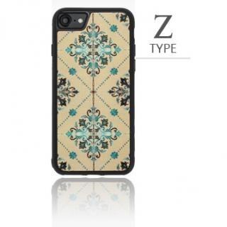 iPhone8/7 ケース バルス モロッコタイル柄TPUケース iPhone 8/7 S Type