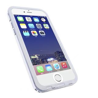 防水・防塵・耐衝撃ケース スリムダイバー iPhone 6s/6 ホワイト