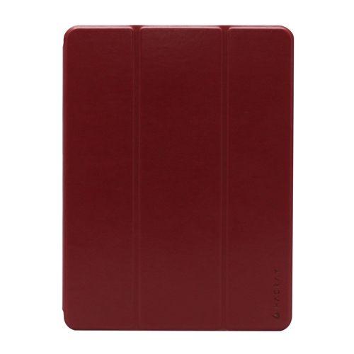 iPad 9.7インチ専用 ペンホルダー付きSmart Filio Case ワイン_0