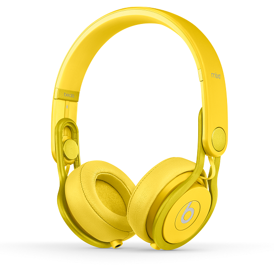 Beats by dr.dre Mixr オンイヤーヘッドフォン - イエロー_0