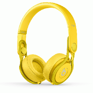 beats by dr.dre Mixr ヘッドフォン イエロー