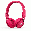 Beats by dr.dre Mixr オンイヤーヘッドフォン - ピンク