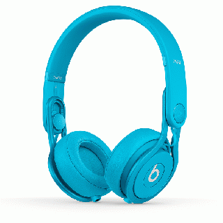 Beats by dr.dre Mixr オンイヤーヘッドフォン - ライトブルー
