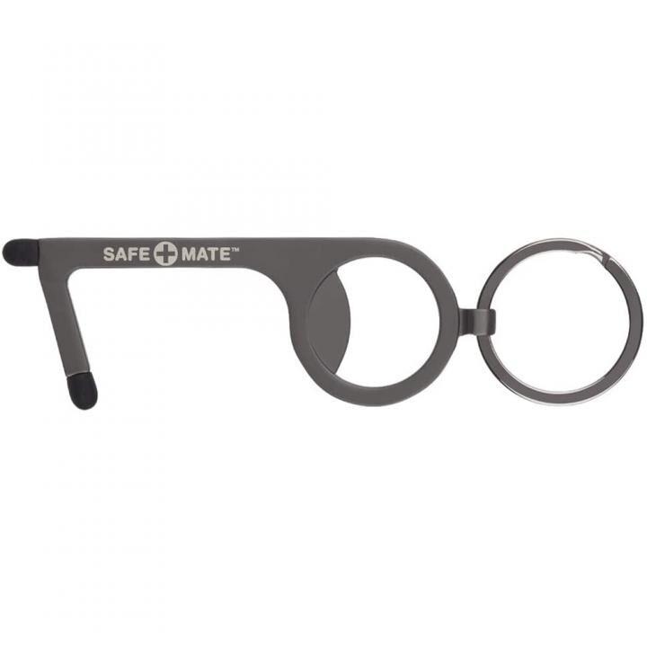 Safe+Mate タッチレス・ツール タッチパネル対応 ボトルオープナー ブラック_0