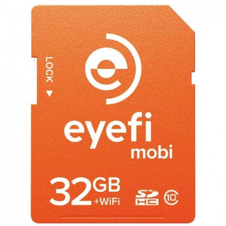 WiFi内蔵SDHCカード Eyefi Mobi 32GB_0