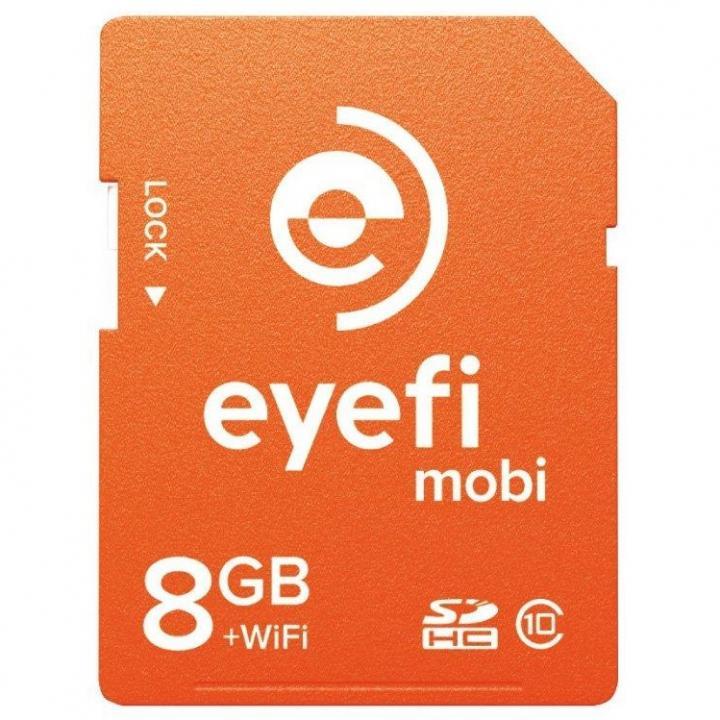 WiFi内蔵SDHCカード Eyefi Mobi 8GB