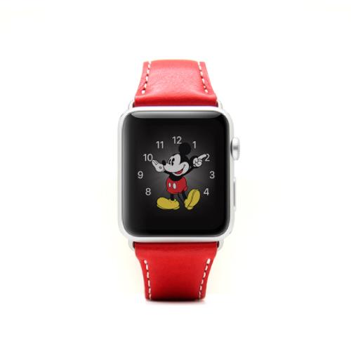 Apple Watch 42mm用バンド  D6 IMBL レッド_0