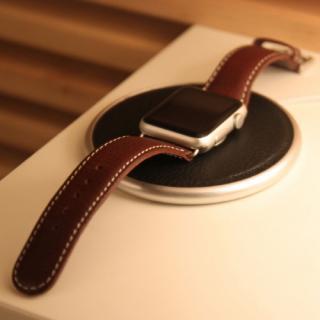 Apple Watch用充電器固定台 D6 IMBL Flat Station タンブラウン_4