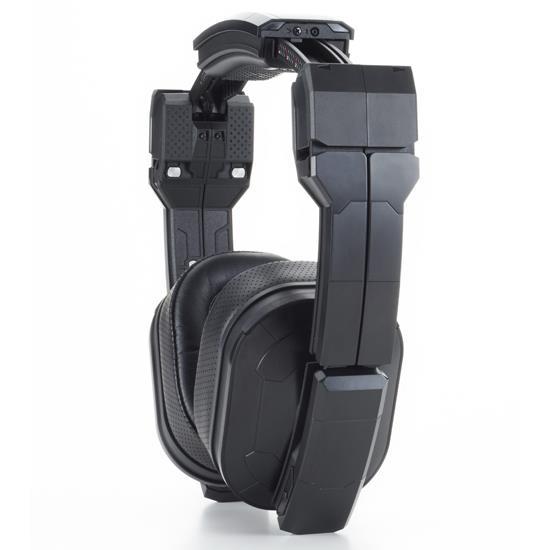 トランスフォーミング・ヘッドフォン TOON WORKSHOP THP-01 ブラック_0