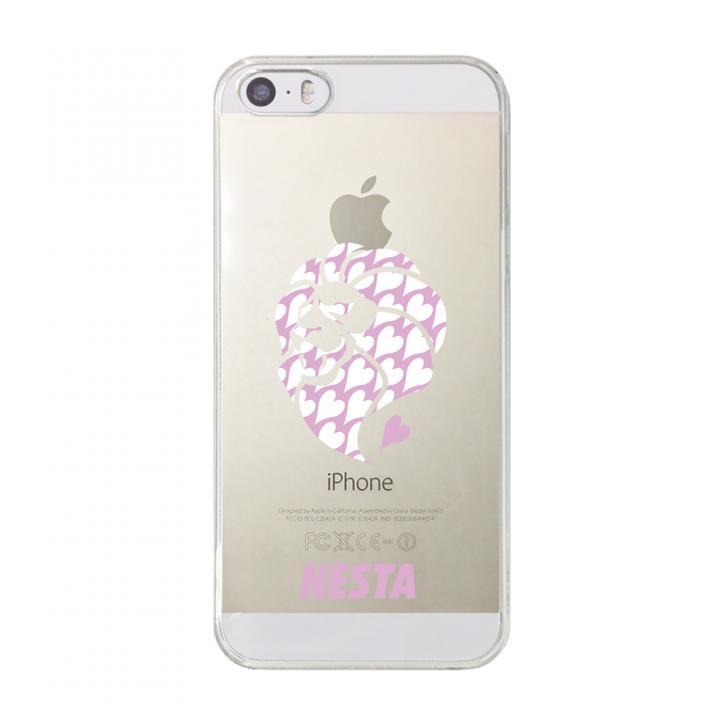 iPhone SE/5s/5 ケース CollaBorn NESTA BRAND コラボクリアケース NESTA_06_CL iPhone SE/5s/5ケース_0