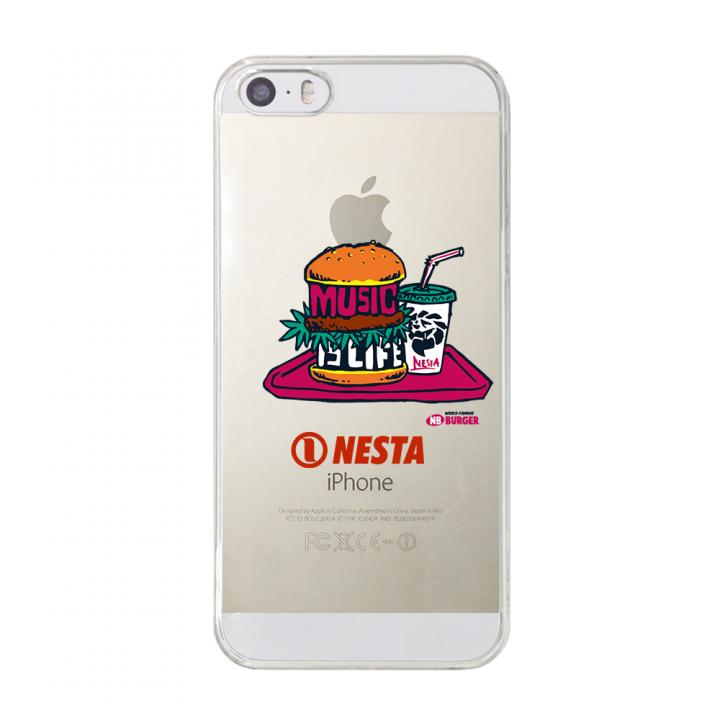 iPhone SE/5s/5 ケース CollaBorn NESTA BRAND コラボクリアケース NESTA_08_CL iPhone SE/5s/5ケース_0