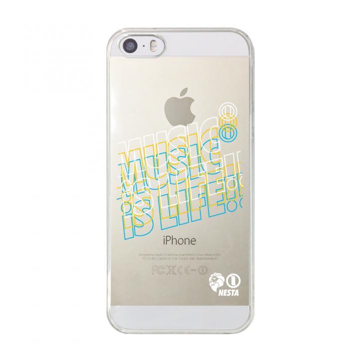 iPhone SE/5s/5 ケース CollaBorn NESTA BRAND コラボクリアケース NESTA_15_CL iPhone SE/5s/5ケース_0