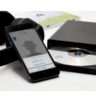 CDレコWiFi パソコン不要で音楽CDをスマホに取り込める