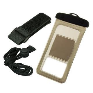 バウト アームバンド付き 防水ケース ブラウン 多機種対応(iPhone/Android)