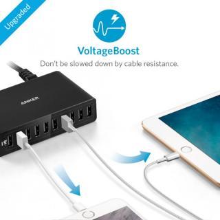 Anker PowerPort 10 60W 10ポート USB急速充電器 ブラック_2