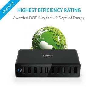 Anker PowerPort 10 60W 10ポート USB急速充電器 ブラック_3
