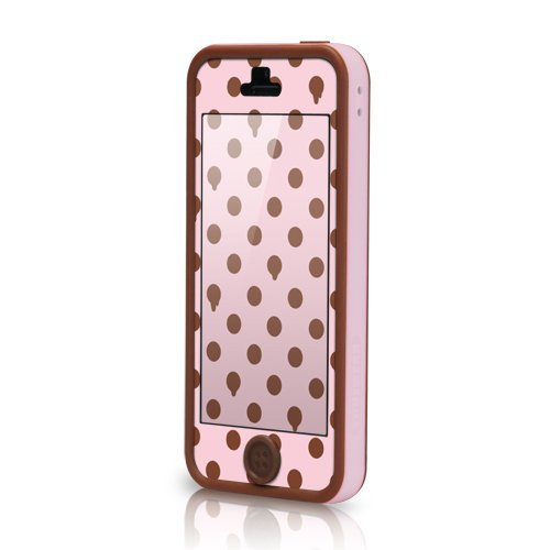 【iPhone SE/5s/5ケース】POPTUNE  iPhone 5 Choco Strawberry_0
