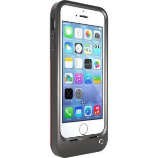OtterBox 耐落下バッテリー内蔵ケース グレー/ピンク iPhone SE/5s/5ケース