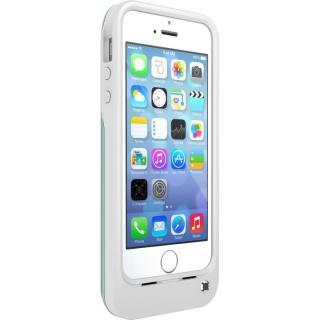 【iPhone SE ケース】OtterBox 耐落下バッテリー内蔵ケース アクア/ホワイト iPhone SE/5s/5ケース