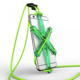 XPORTER NEO ストラップ・ホルダー iPhone 6/6 Plus & スマートフォン グリーン&ライム