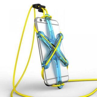 XPORTER NEO ストラップ・ホルダー iPhone 6/6 Plus & スマートフォン ブルー&イエロー