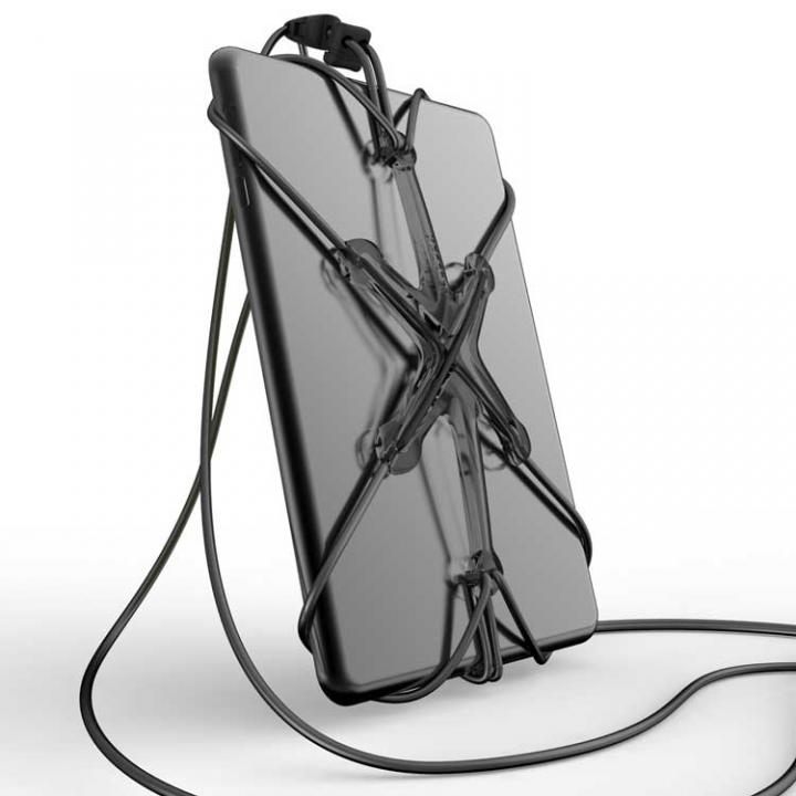 XPORTER NEO ストラップ・ホルダー iPad & タブレット スモーク&ブラック_0