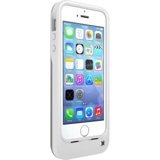 iPhone SE/5s/5 ケース OtterBox 耐落下バッテリー内蔵ケース ホワイト/ガンメタルグレー iPhone SE/5s/5ケース