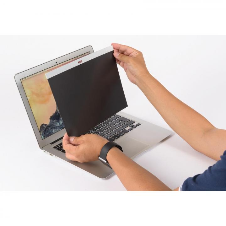 クリスタルアーマー マグネットで貼れる覗き見防止シート  MacBook Air(13インチ)_0