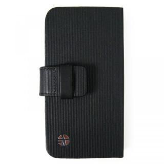 【iPhone SE/5s/5ケース】左利きの方におすすめ! 右開き 本革手帳型ケース ローテーティングフォリオ ブラック iPhone SE/5s/5ケース_2