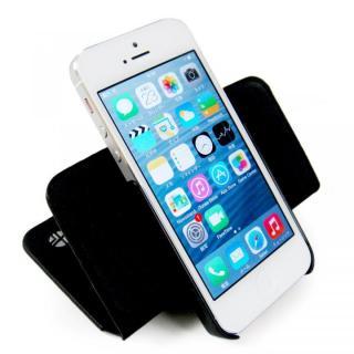 【iPhone SE/5s/5ケース】左利きの方におすすめ! 右開き 本革手帳型ケース ローテーティングフォリオ ブラック iPhone SE/5s/5ケース_8