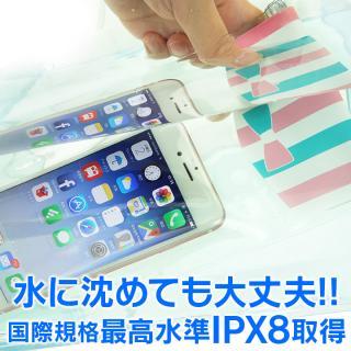 【iPhone6s/6s Plusケース】bikit 防水ポーチ ブラックリボン_1