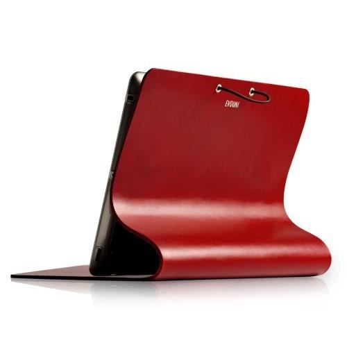 Leather Arc Cover_ iPad2/ 3/ 4_Claret