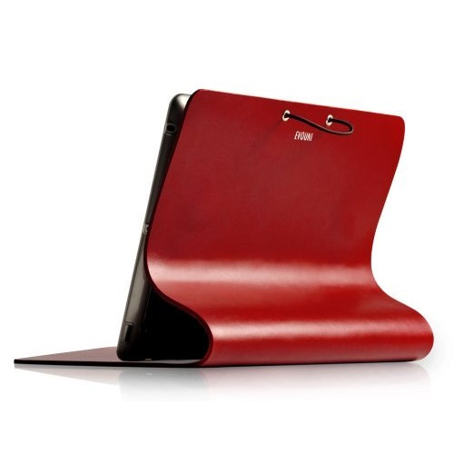 Leather Arc Cover_ iPad2/ 3/ 4_Claret_0