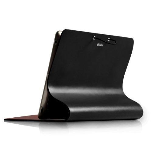 Leather Arc Cover_ iPad2/ 3/ 4_Black_0
