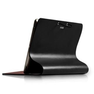 Leather Arc Cover_ iPad2/ 3/ 4_Black