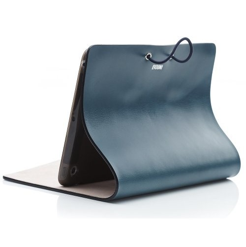 Leather Arc Cover iPad mini/2/3 Blue_0