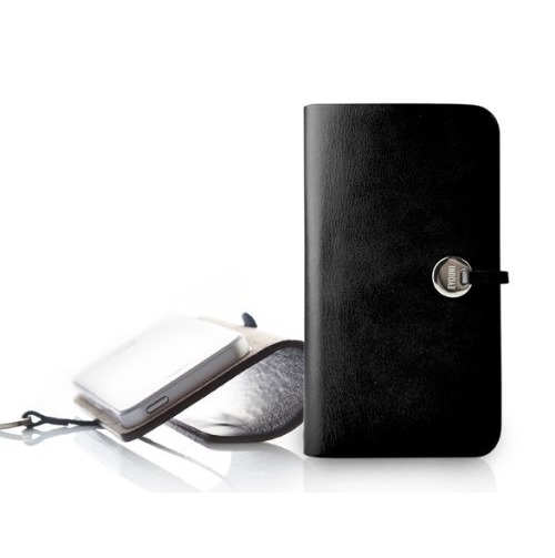 【iPhone SE/5s/5ケース】Leather Arc Cover_iPhone5_Black_0