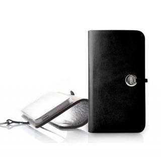 Leather Arc Cover_iPhone5_Black