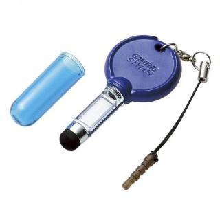 [新iPhone記念特価]ゲーミングタッチペン ショート ブルー