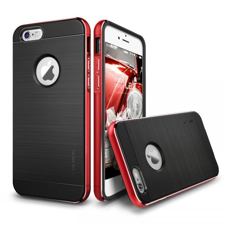 [新iPhone記念特価]VERUS IRON SHIELD NEO for iPhone6 Plus/6s Plus (Kiss Red)