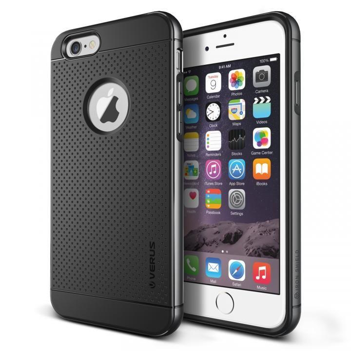 【iPhone6s Plus/6 Plusケース】VERUS IRON SHIELD for iPhone6 Plus (Titanium)_0