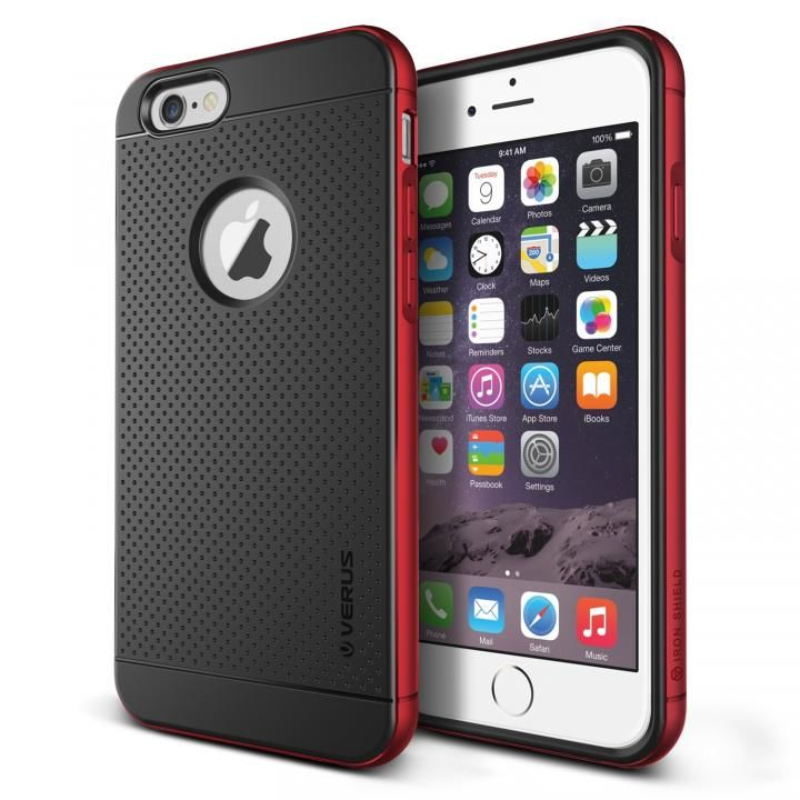 iPhone6s Plus/6 Plus ケース VERUS IRON SHIELD for iPhone6 Plus (Kiss Red)_0