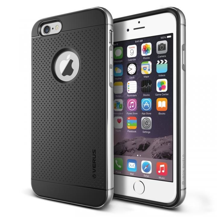 【iPhone6s Plus/6 Plusケース】VERUS IRON SHIELD for iPhone6 Plus (Silver)_0