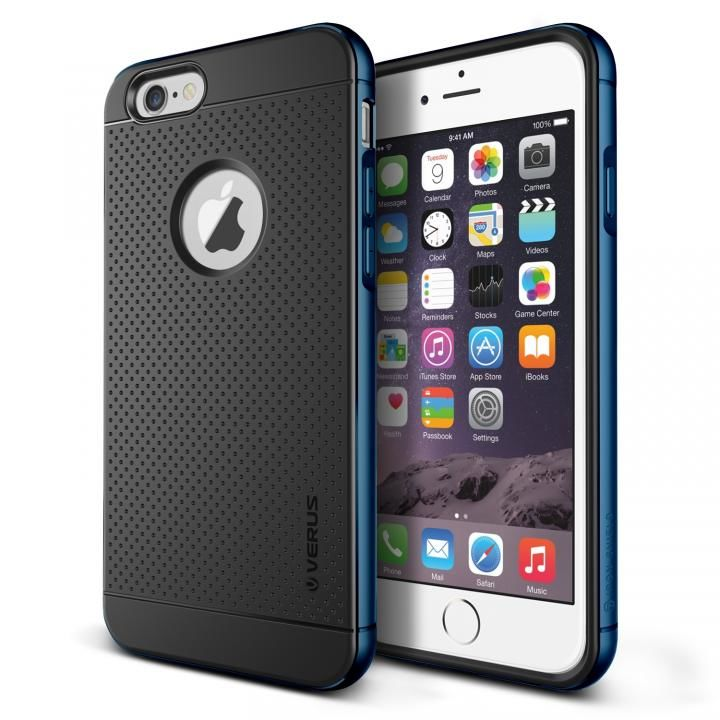 [新iPhone記念特価]VERUS IRON SHIELD for iPhone6 Plus (Monacco Blue)