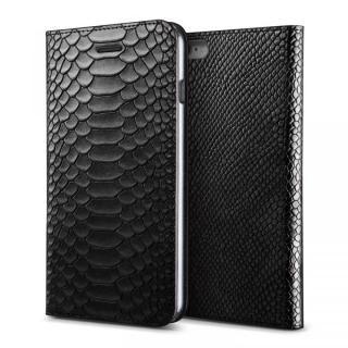 [新iPhone記念特価]VERUS PYTHON diary for iPhone6 (Black)